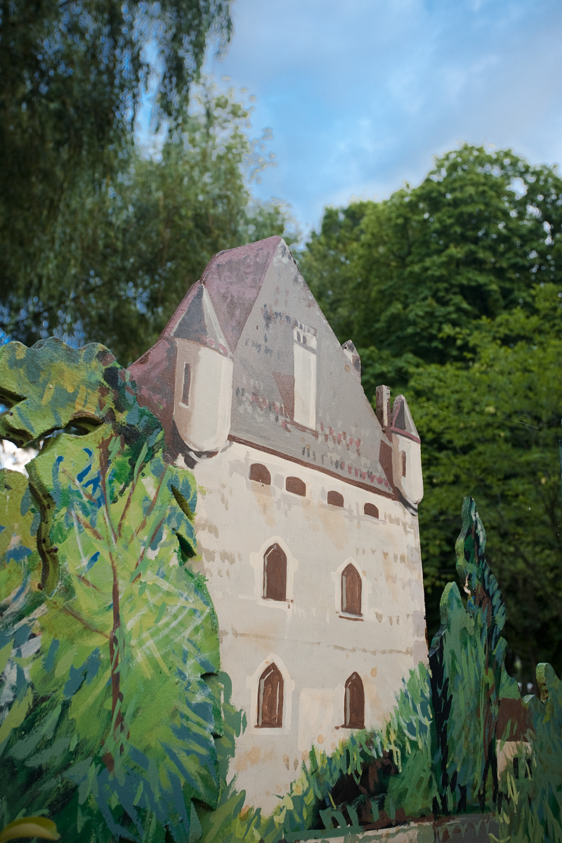 A castle cutout illustration - Annecy, France - Daily Travel Photos