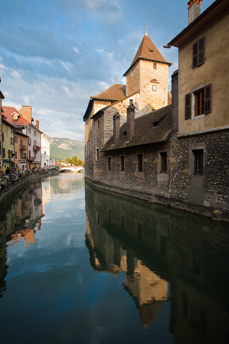 Palais de L'isle in the historic downtown area - Annecy, France - Daily Travel Photos