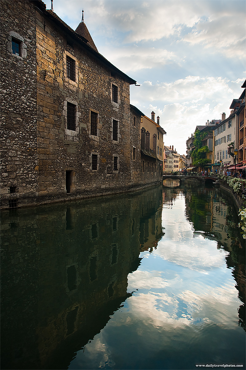 The old prison,  Palais de L'isle, in the historic downtown - Annecy, France - Daily Travel Photos