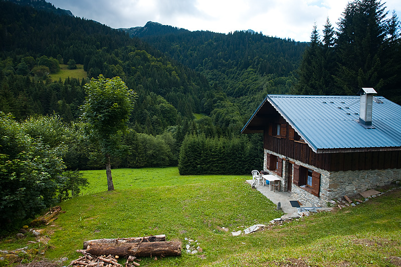 A mountain chalet in the French Alps - Albertville, Savoie, France - Daily Travel Photos