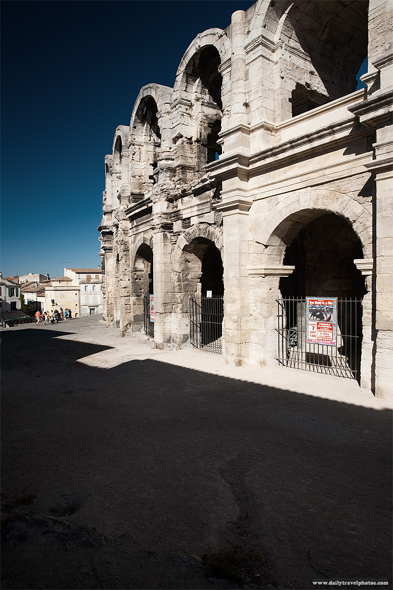 Preserved Roman arena - Arles, Provence, France - Daily Travel Photos