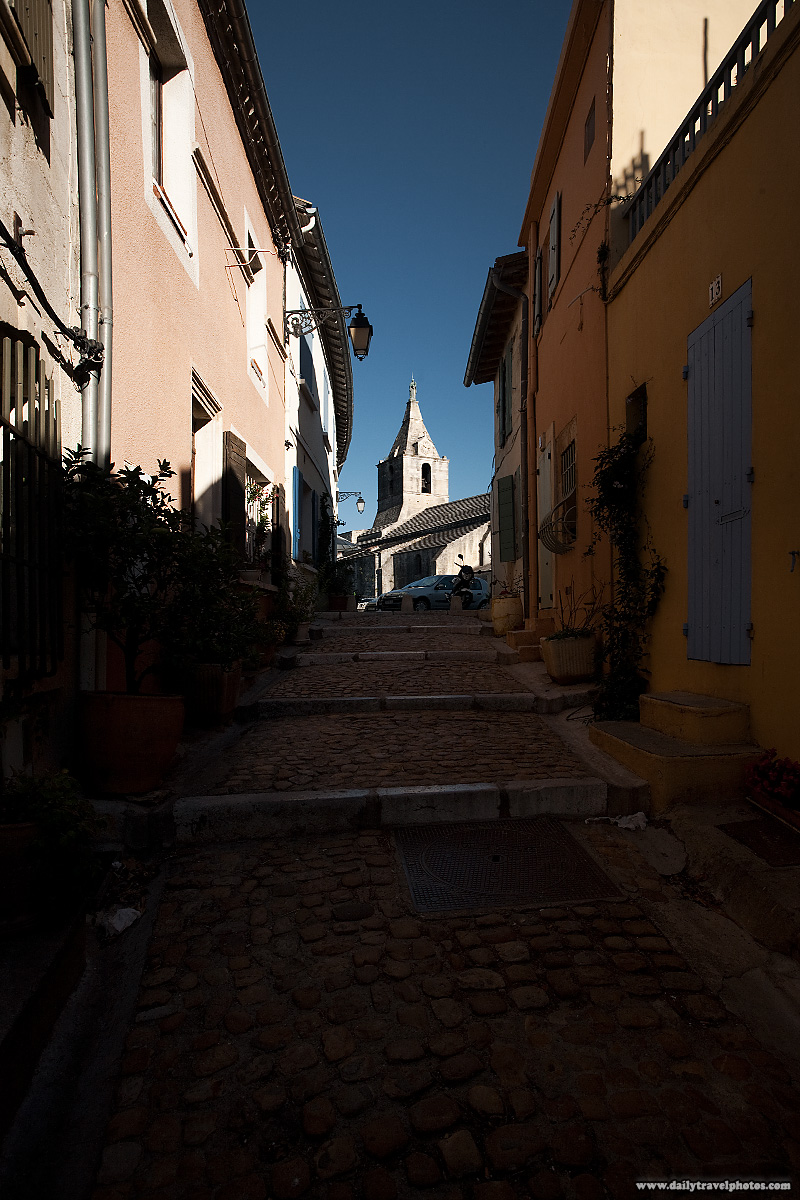 Typical street/alley in Arles - Arles, Provence, France - Daily Travel Photos