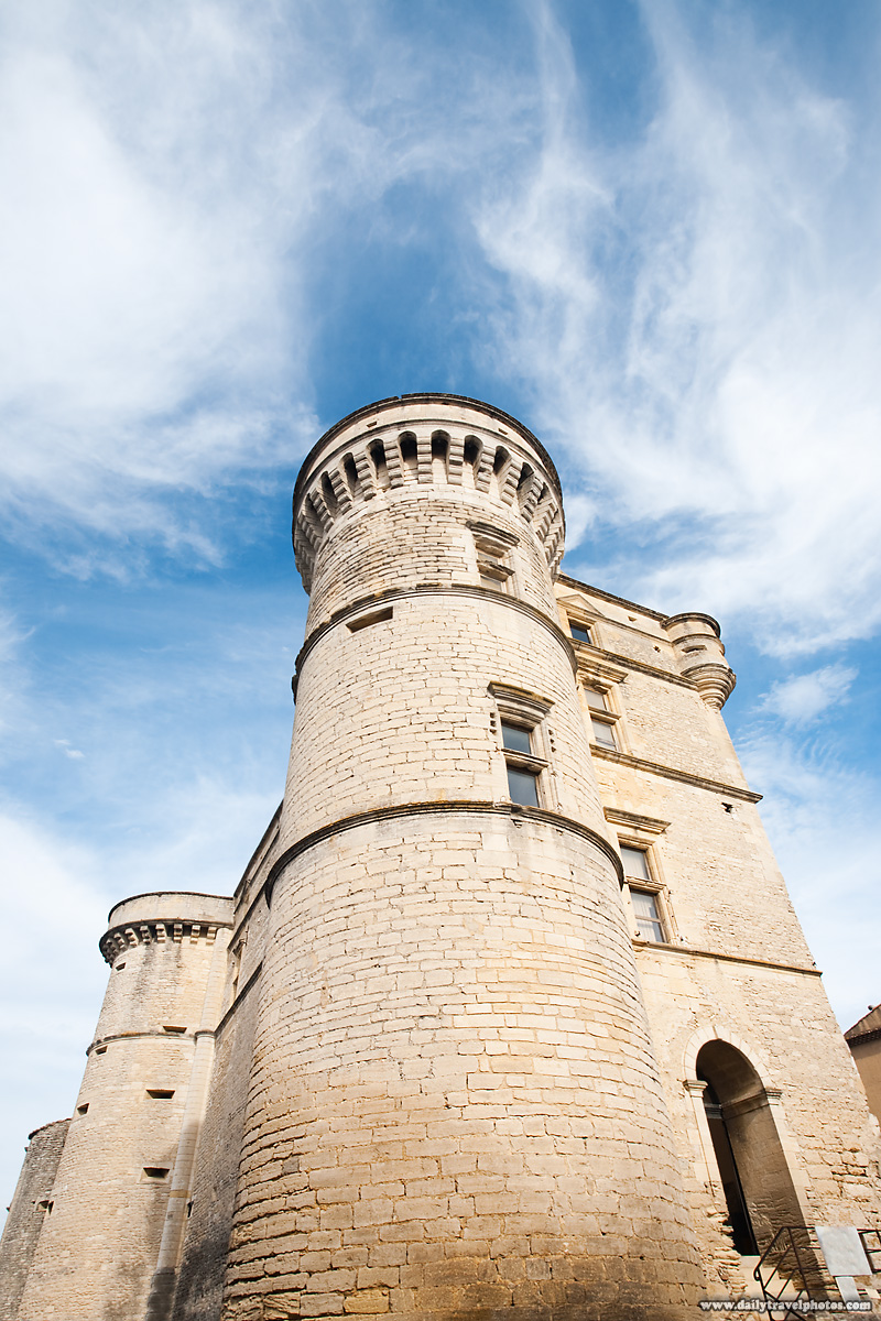 Beautiful castle turret in a picturesque hilltop village - Gordes, Provence, France - Daily Travel Photos