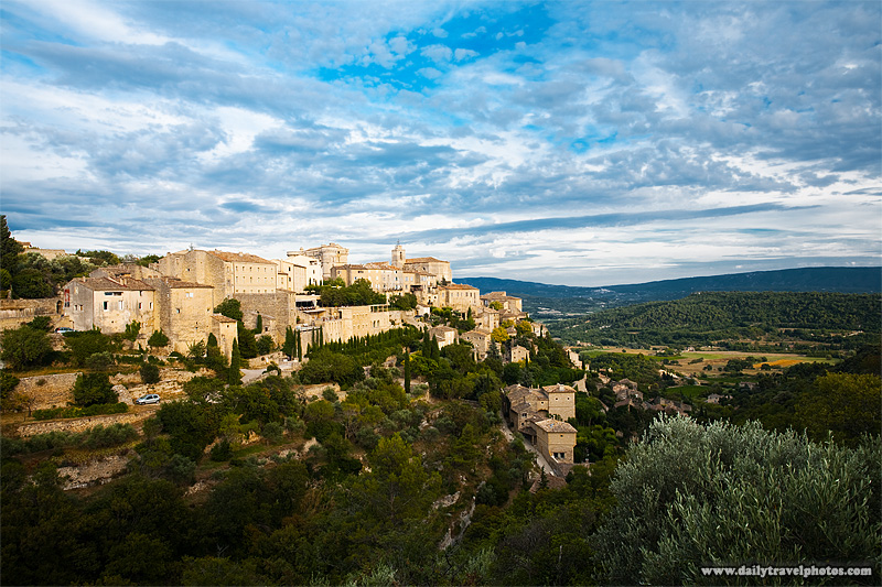 Picturesque mountaintop village most beautiful in France - Gordes, Provence, France - Daily Travel Photos