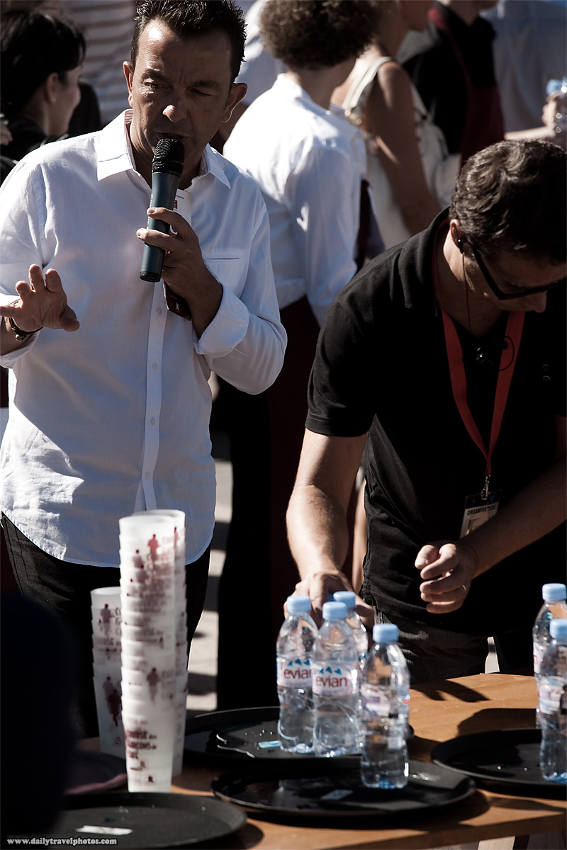 Master of ceremonies Waiter's Run - Annecy, Haute-Savoie, France - Daily Travel Photos