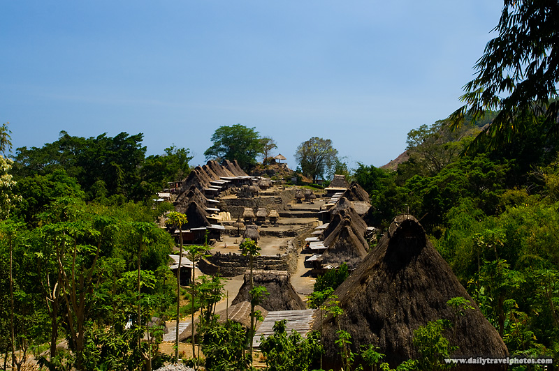 Thatched roofs in the traditional Ngada village of Bena - Bena, Flores, Indonesia - Daily Travel Photos