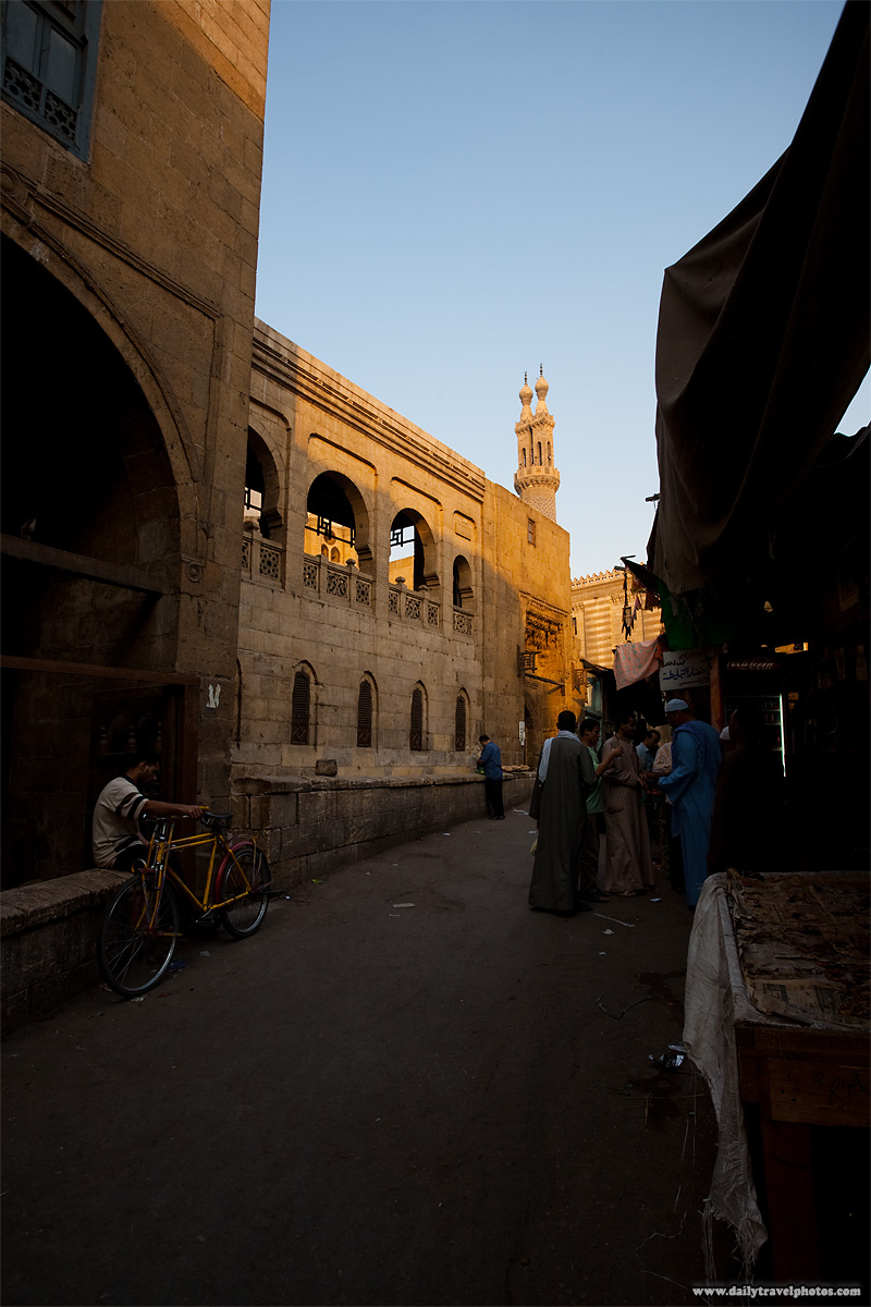Back alleyways near the Al Azhar Mosque - Cairo, Egypt - Daily Travel Photos