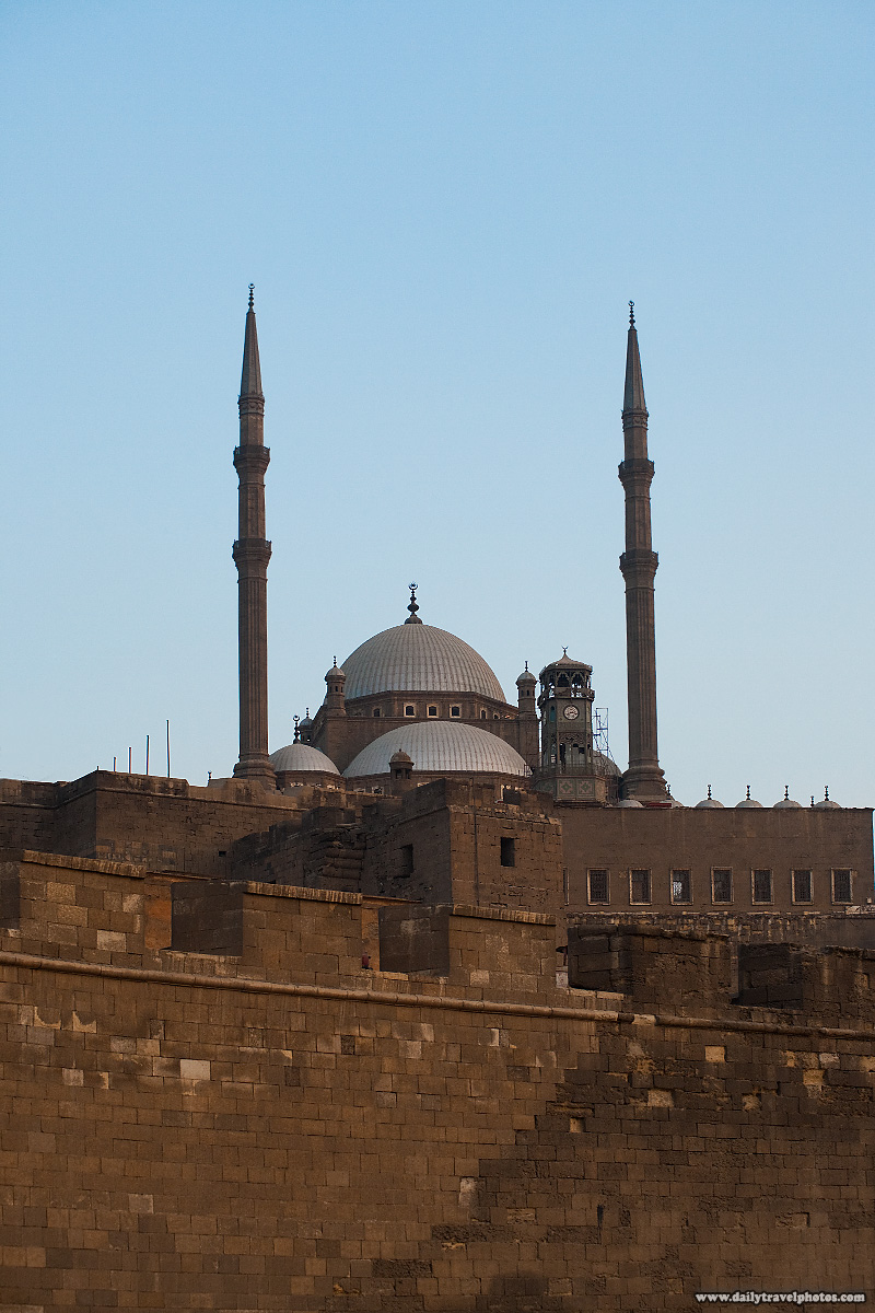 The Citadel fortification and minarets in Islamic Cairo - Cairo, Egypt - Daily Travel Photos