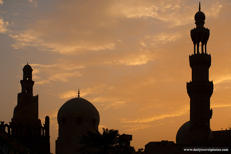 Portions of the landmark Mosque of Ibn Tulun - Cairo, Egypt - Daily Travel Photos
