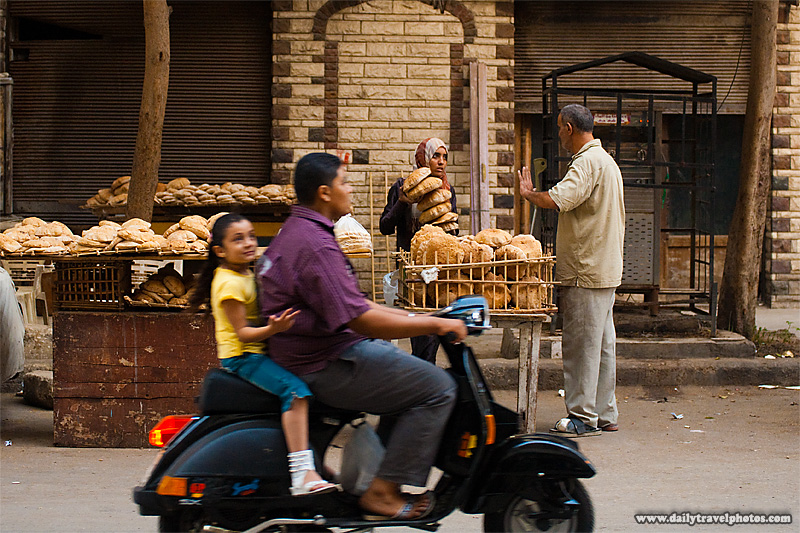A bread manufacturer operates a store outside the factory - Cairo, Egypt - Daily Travel Photos