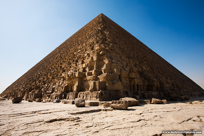 Egyptian Policeman Guarding Pyramid Khufu - Cairo, Egypt - Daily Travel Photos