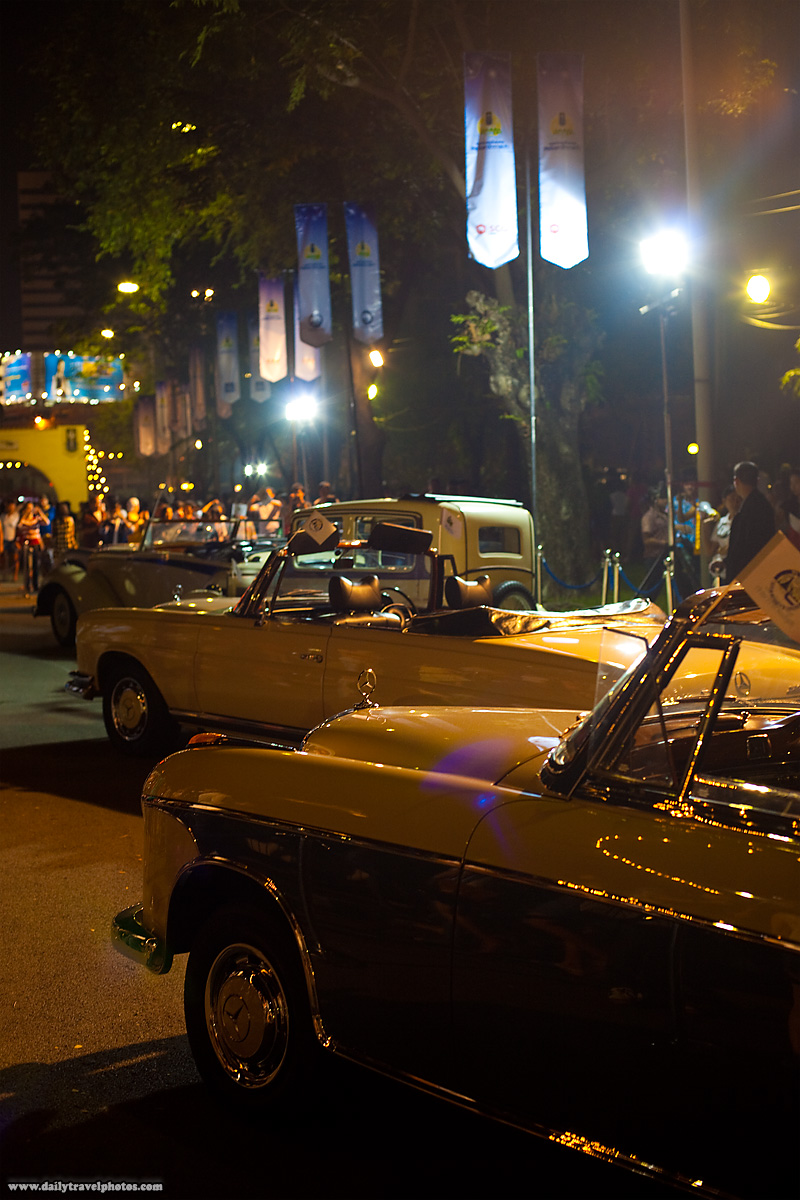 Classic Mercedes Benz Cars Show - Bangkok, Thailand - Daily Travel Photos