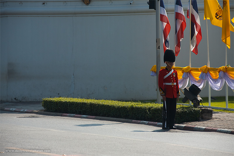 Thai Royal Guard National Palace King's Birthday - Bangkok, Thailand - Daily Travel Photos