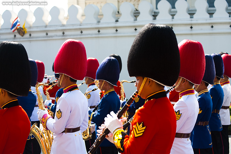 Thai Royal Marching Band King's Birthday - Bangkok, Thailand - Daily Travel Photos