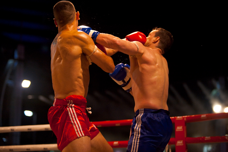 Double Punch Muay Thai Boxing - Bangkok, Thailand - Daily Travel Photos