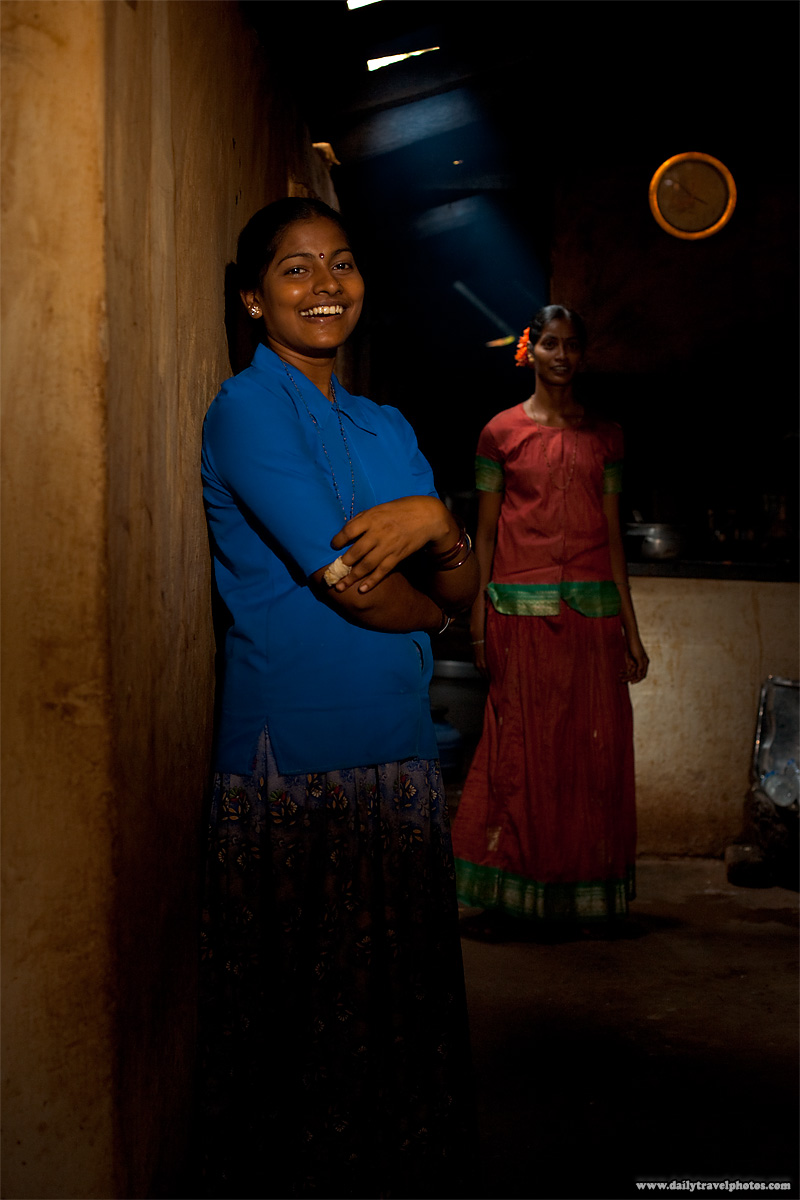 Cute Indian Girls Dhaba Workers - Gokarna, Karnataka, India - Daily Travel Photos