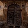 photo: Merchant's Mansions - The front facade of the Nathmal-Ki-Haveli home.