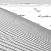 Waves Of Grain Photo: A patterned sand dune in the desert near Khuri.