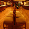 photo: Showcase - A 360º panorama of RmKV's silk saree showroom in Chennai.