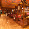 Handloom Pano Photo: The fancy silk saree showroom at RmKV Tirunelveli's super-store.
