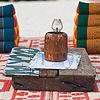 "Table for Two Photo: A ""table"" at a beach bar seats two."