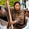 Belligerent Boatmen Photo: A Kashmiri woman is physically barred from boating away at the floating vegetable market.