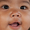 Junior Gypsy Photo: A smiling Chao Leh sea gypsy baby.