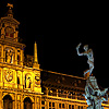 Hand Heave Photo: City Hall and its famous fountain located at Grote Markt (Great Market).