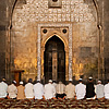 Worship Wall Photo: Muslims kneel for prayer in Jamia Masjid's cavernous prayer hall.