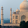 Red Rock Photo: The Taj Mahal is seen from a distance at sunset.  (From the archives due to time restraints.)