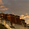 Picture-Perfect Palace Photo: The Potala Palace at sunset after rains. (From the archives due to time restraints.)