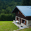 Savoy Chalet Photo: A mountain chalet in the French Alps near Albertville.