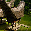 photo: Saddle Structure - Tongkonan, traditional peaked roof boat houses, of the Tana Toraja people (archived photos, on the weekends).