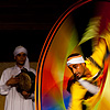 Technicolor Tornado Photo: Whirling dervish performance at Wikala Al Ghuri in Islamic Cairo (ARCHIVED PHOTO - on the weekends).