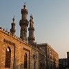 Minaret Municipality Photo: The Al Azhar Mosque and Mosque of Abu Dahab in Islamic Cairo.