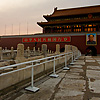 Forbidden Entry Photo: Sunset at the entrance to the Forbidden City (ARCHIVED PHOTO on the weekends - originally taken 2007/08/09).