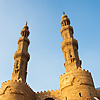 Bab Zuweila Gate Photo: Egyptian bustle at the base of the Bab Zuweila Gateway in Islamic Cairo.