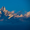 Himalayan Highs Photo: Machapuchre mountain, part of the Annapurna range of the Himalayas (ARCHIVED PHOTO on the weekends - originally taken 2007/12/13).