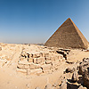 Pyramid Panorama-rama Photo: A series of user-controlled 360° panoramas of the Pyramids at Giza at various points within the necropolis.
