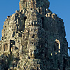 Grinning Granite Photo: The towering Bayon Temple at the Angkor Wat temple complex (ARCHIVED PHOTO on the weekends - originally photographed 2007/05/17).