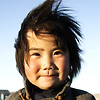 photo: Wild Mongolia - A cute Mongolian girl poses on the plains in central Mongolia (ARCHIVED PHOTO on the weekends - originally photographed 2004/10/21).