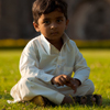Young Indian Gentlemen Photo: A dapper young Muslim boy poses for a quick portrait in the predominantly Muslim city of Bijapur, India (ARCHIVED PHOTO on the weekends - originally photographed 2009/02/20).
