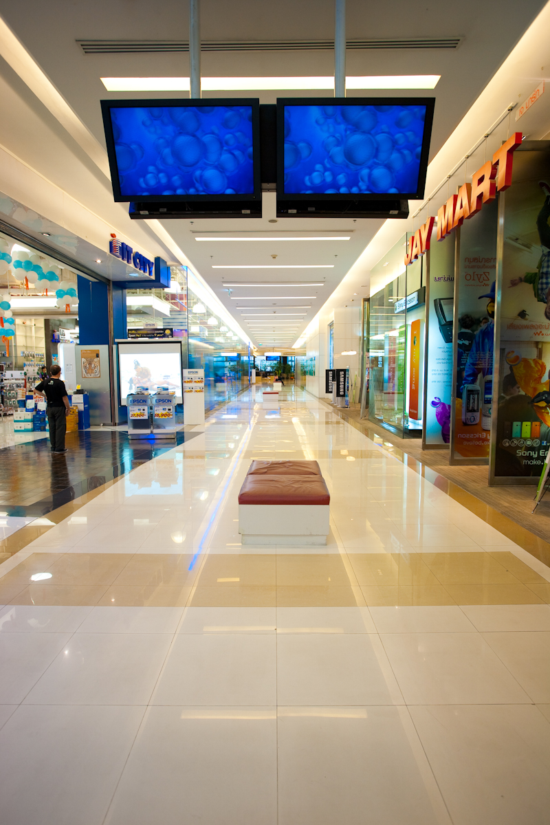 Paragon Mall Electronics Floor - Bangkok, Thailand - Daily Travel Photos