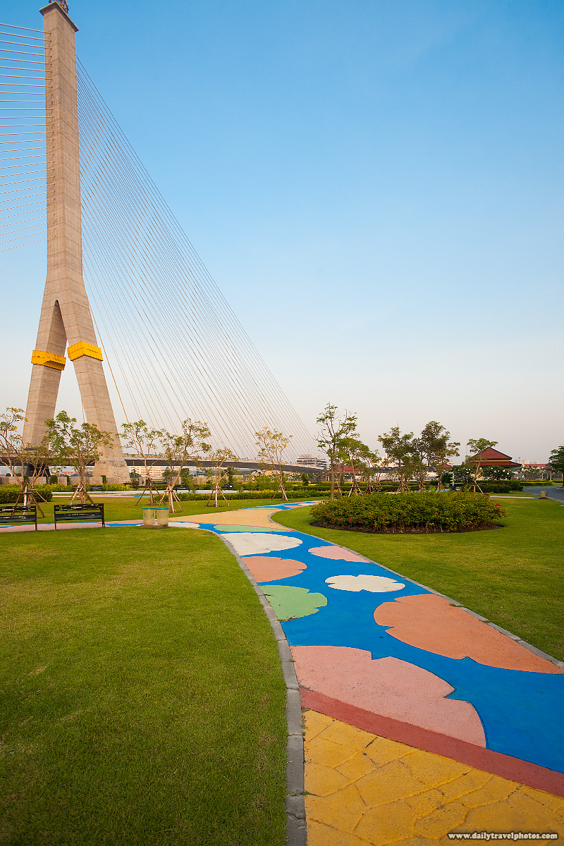 King Rama II Bridge Park - Bangkok, Thailand - Daily Travel Photos
