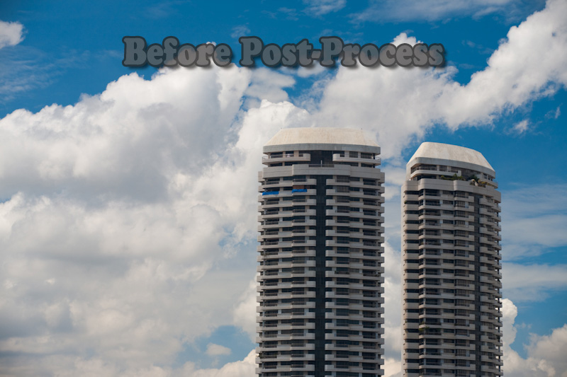 Before Photoshop Post Process Jquery Apartments - Bangkok, Thailand - Daily Travel Photos