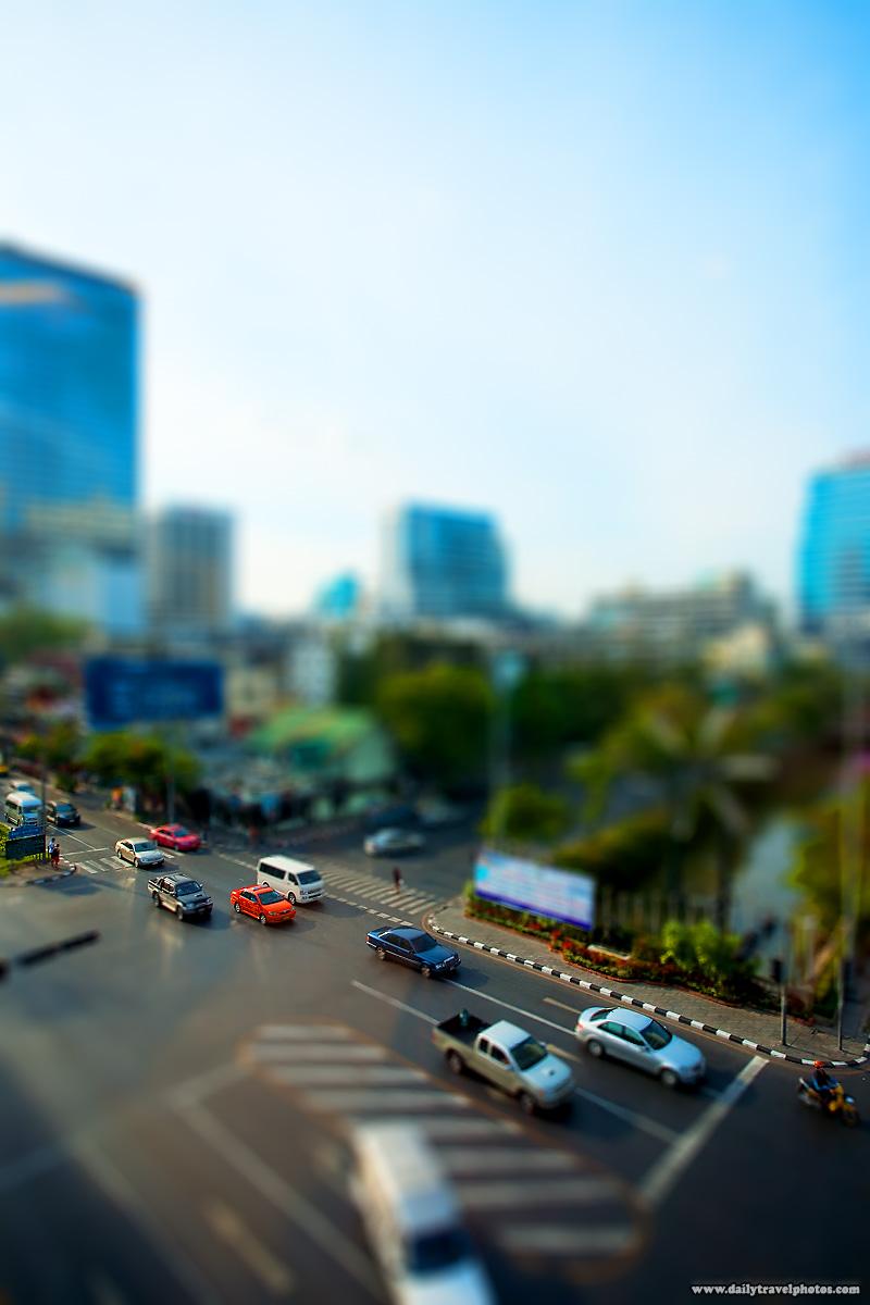 Model Train Set Silom Road - Bangkok, Thailand - Daily Travel Photos