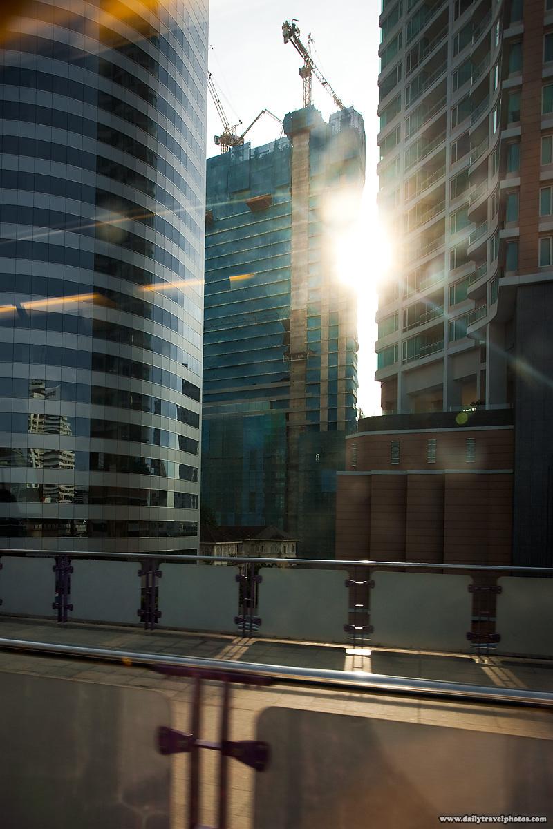 Skyscrapers Downtown Construction Modern - Bangkok, Thailand - Daily Travel Photos