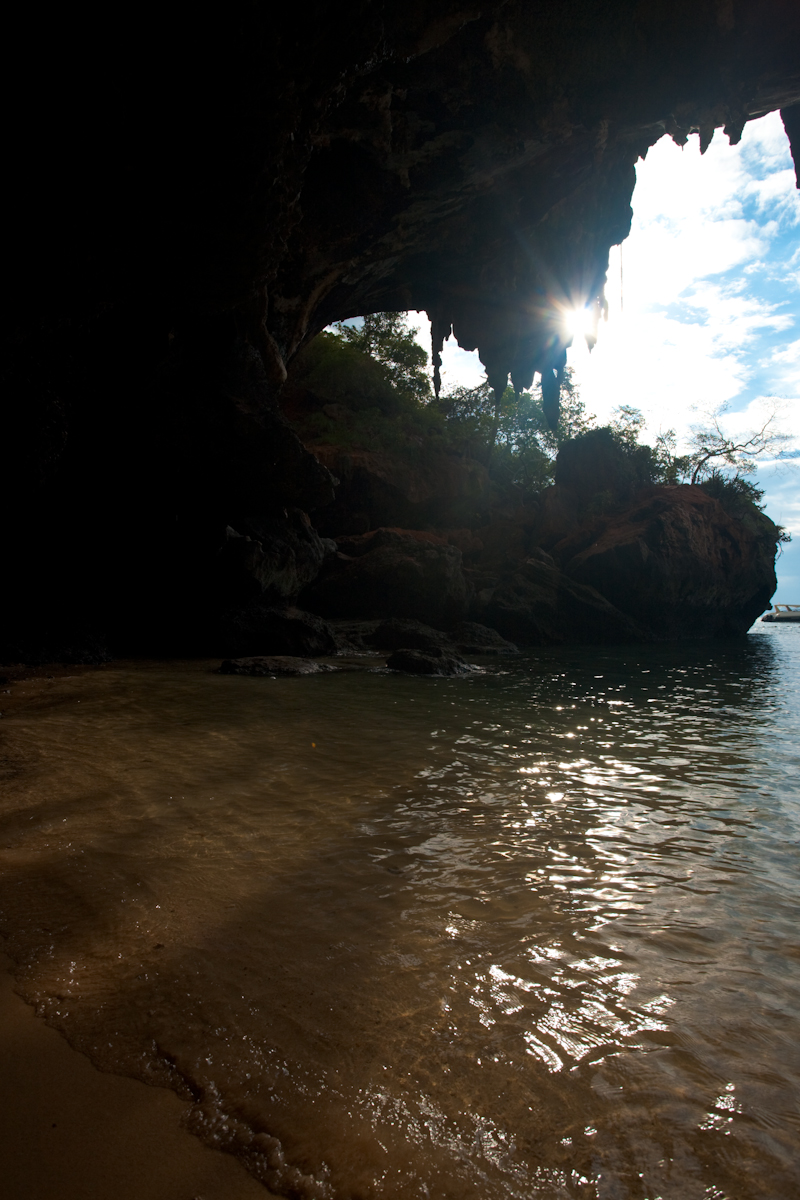 Mouth Cave Phranom Beach - Railay, Thailand - Daily Travel Photos