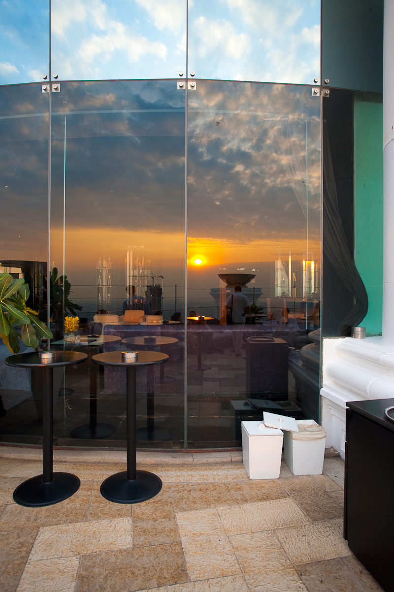 Sunset Sirocco Lebua Sky Bar State Tower - Bangkok, Thailand - Daily Travel Photos