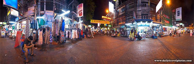 Khao San Road Panorama Full Burger King - Bangkok, Thailand - Daily Travel Photos